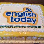 English Today's 20th Birthday Bash! 26 Oct 2013